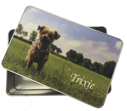 Personalised Rectangle Tin